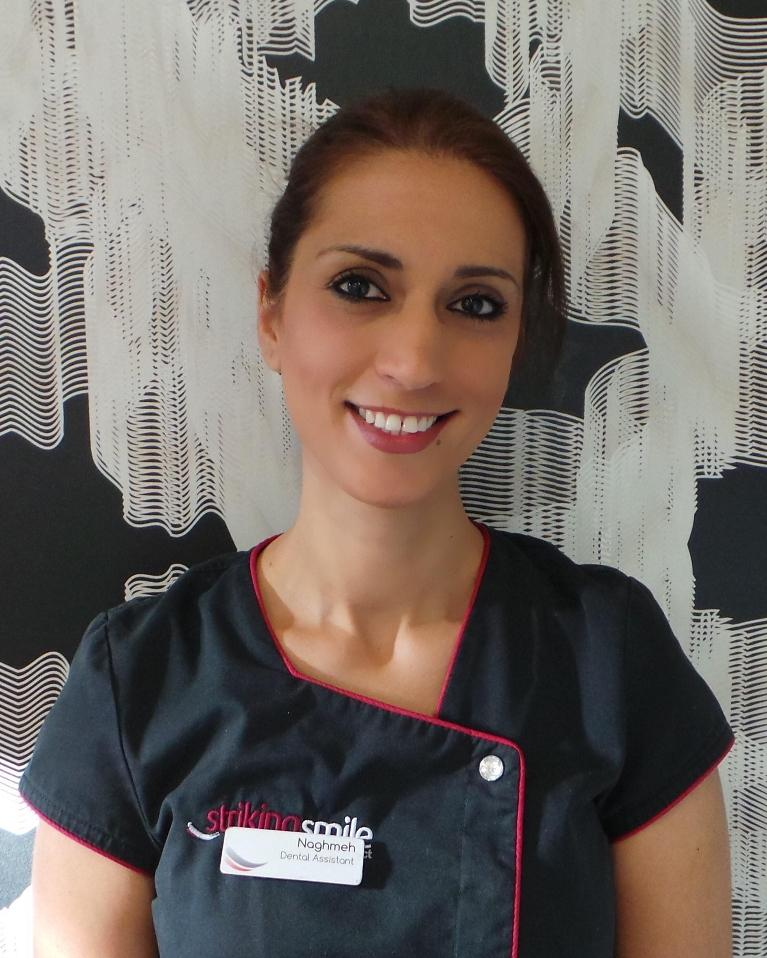 Naghmeh , Dental Assistant and Surgery Coordinator